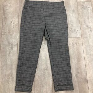 Jules & Leopold plaid pants